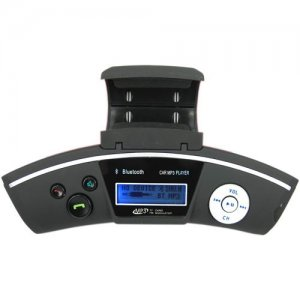 Car Steering Wheel Car MP3 FM Transmitter Support Wireless Transmission